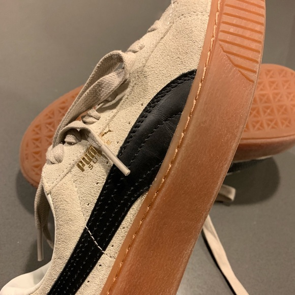 Puma Shoes | Trainers Cream And Black